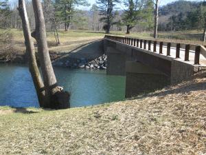 Private Bridge Construction - Bath Co., Va